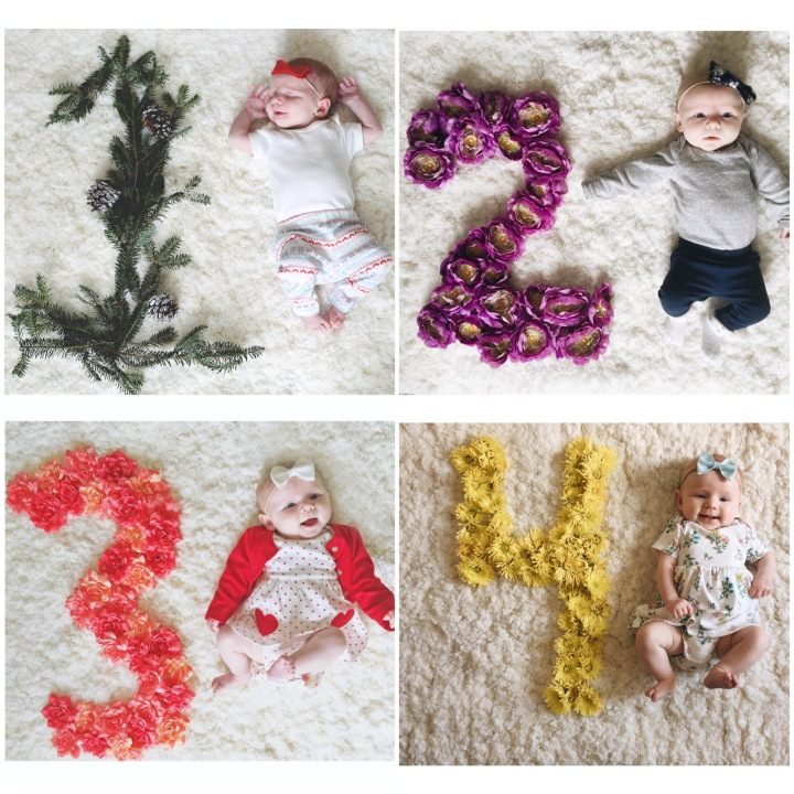 How To: Monthly FloralNumbers
