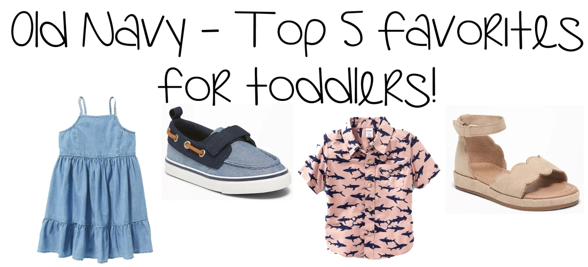 8a71139be36d0 Toddler Top 5 Old Navy Favorites – 40% Off Sale Ends Today