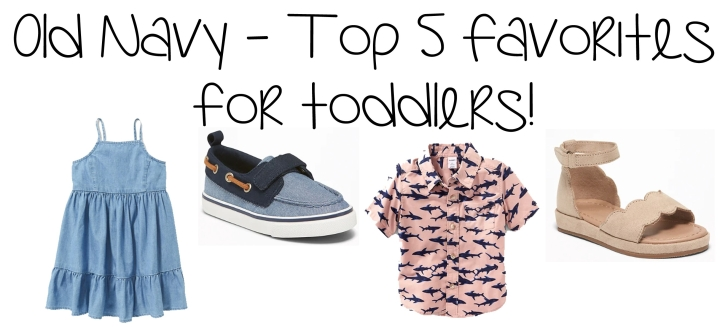 Toddler Top 5 Old Navy Favorites – 40% Off Sale Ends Today